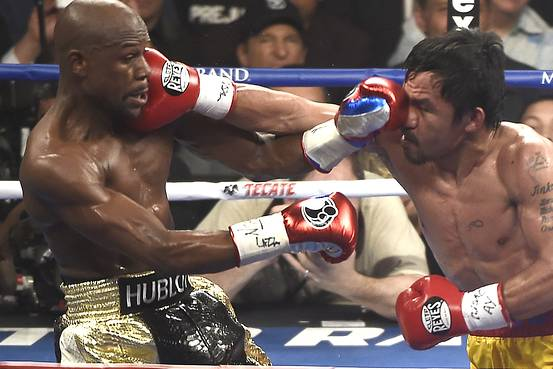 Mayweather v Pacquiao - the best-selling boxing match in history